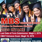 Admission Open in MBS